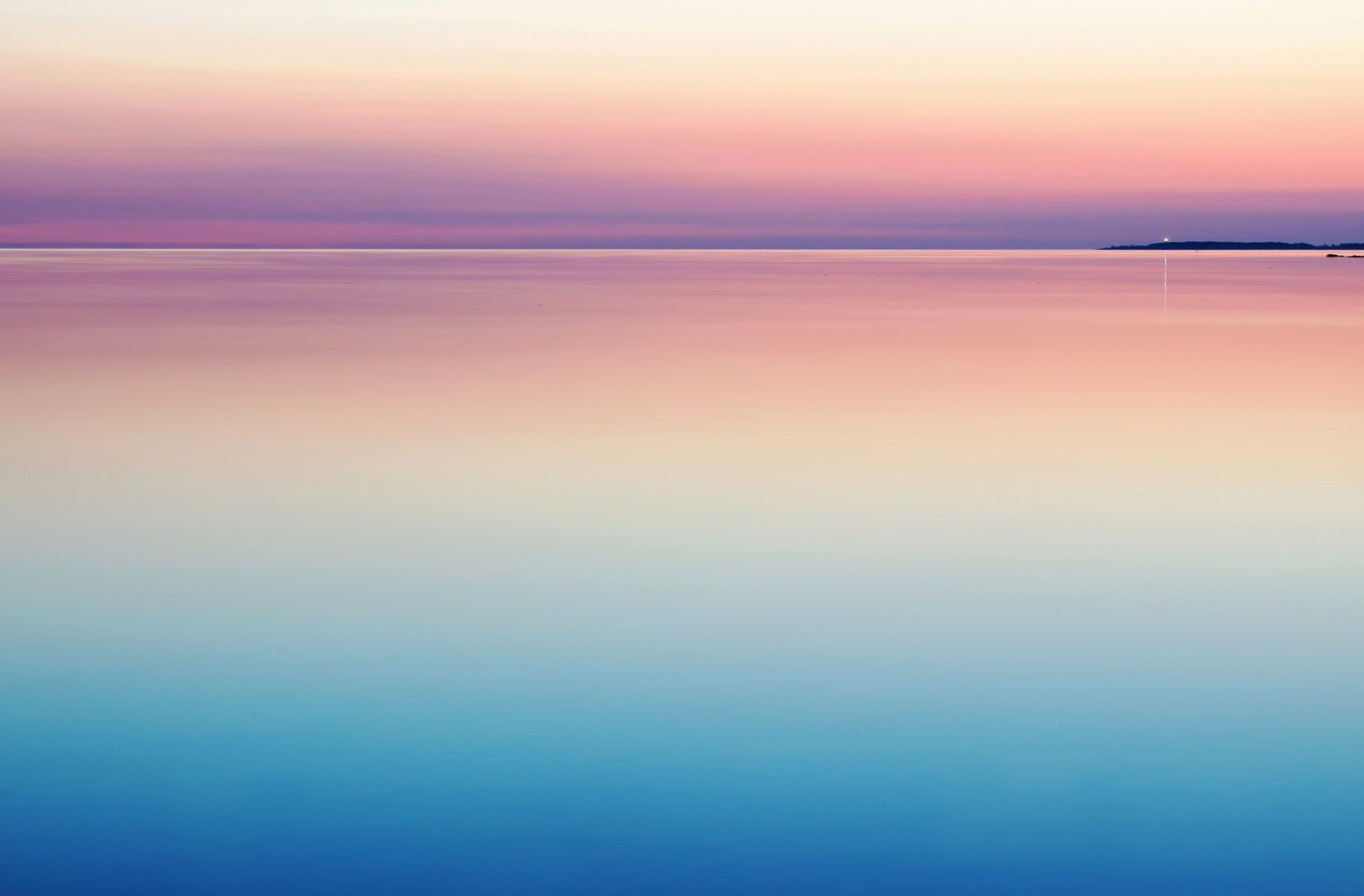 Blue And Pink Sea by Harli-Marten