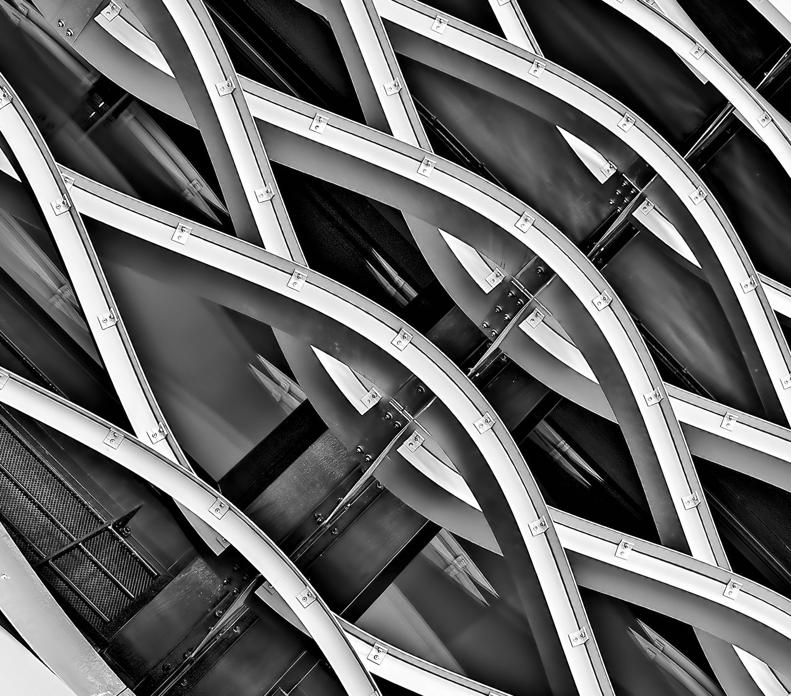 Minimalist Photography of Spiral Structure by Ricardo-Gomez-Angel