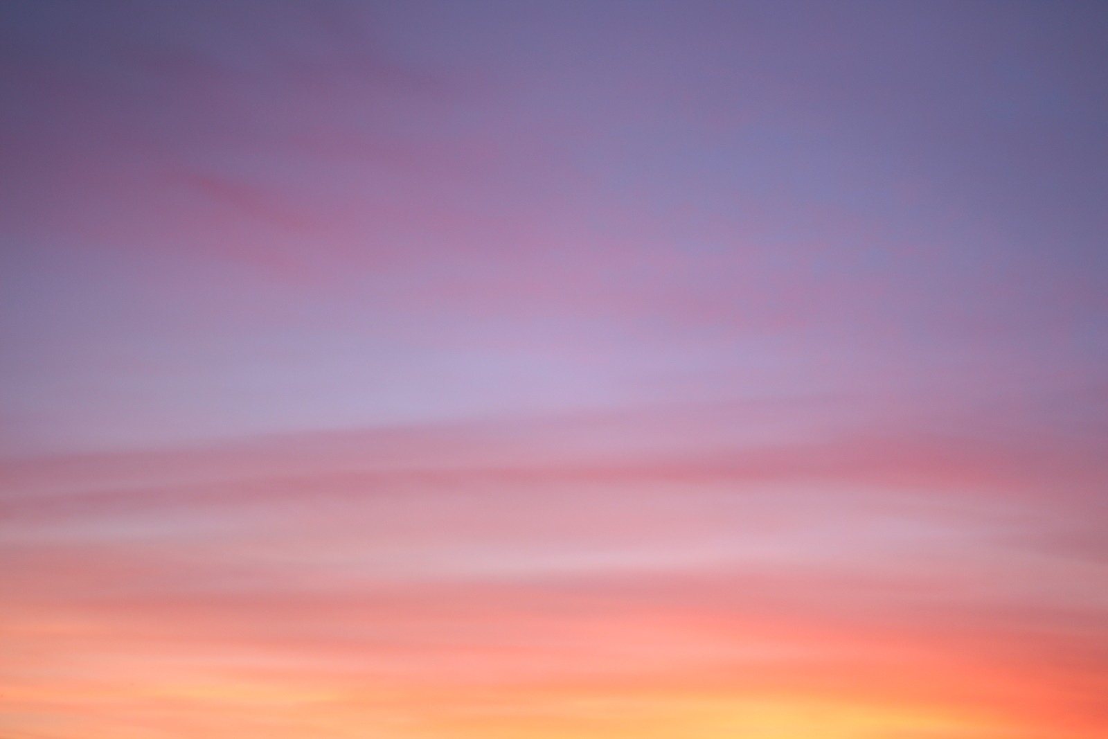 Pink, Yellow, And Purple Cloudy Sky by Ferdinand-Stohr